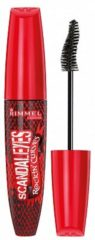 Zwarte Rimmel London Scandal'Eyes Rockin'Curves mascara - 001 Black