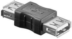 Witte Goobay USB ADAP A-F/A-F Grijs kabeladapter/verloopstukje