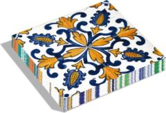 Blauwe Dutch Design Brand - Dutch Design Napkins - servetten - Portugese tegels - Portuguese Tiles