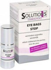 Solutions cosmeceuticals Solutions Eye Bags Stop - Wallencreme mannen - anti wallen - wallen en donkere kringen oogcreme