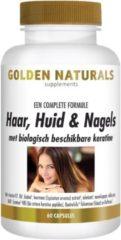 Golden Naturals Haar, Huid & Nagels (60 vegetarische capsules)