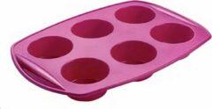 Metaltex Bakvorm Flex Muffins 29,5 X 20,5 Cm Siliconen Paars