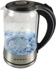 Zilveren Beper - Waterkoker in glas - 2200 W - 1,7L