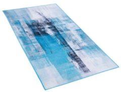 Beliani TRABZON Vloerkleed Meerkleurig Polyester 80 x 150 cm