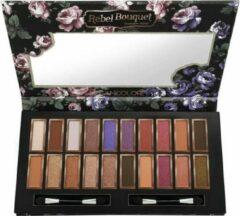 Paarse Kleancolor Rebel Bouquet Eyeshadow Palette - ES2206