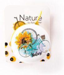 Witte BiggDesign Natuur Fietsbel Speciaal ontwerp, toepasselijk voor 19-22 mm handvaten