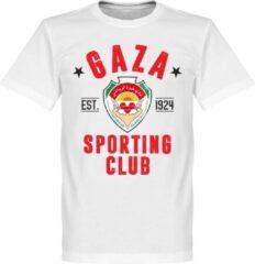 Retake Gaza Established T-Shirt - Wit - M