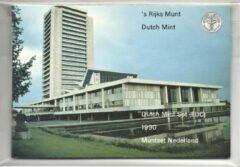's Rijks Munt Nederland Jaarset Munten 1990 FDC - Noord-Brabant