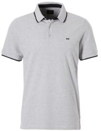 Afbeelding van Jack & Jones Poloshirt - Maat S - Mannen - licht grijs/zwart