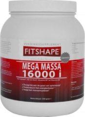 Fitshape Mega Massa 16000 I Proteïne Shake 2500 g - Vanille