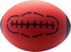 Merkloos / Sans marque Foam rugby bal rood 24 cm