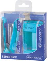Combipack kangaro Aion-10G/s2 - blauw, Nowa-35, 25 vel, 24/6 n