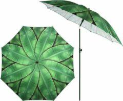 Groene Esschert design Parasol bananenbladeren