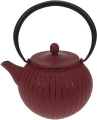 Rode Cosy & Trendy Cosy&Trendy Lantern Theepot - 1.2 l - Gietijzer - Rood
