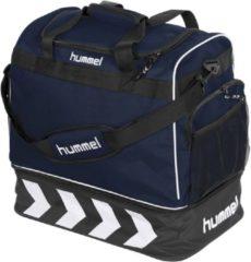 Marineblauwe Hummel Pro Bag Supreme Sporttas - navy blue/zwart - 50 x 48 x 32 cm