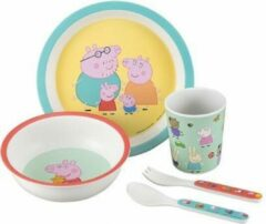 5-Delige Servies Set Peppa Pig