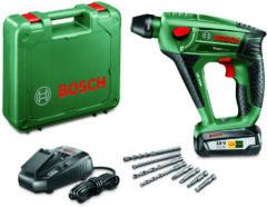 Accu-boorhamer Bosch Home and Garden UneoMaxx SDS-Quick 18 V 2.5 Ah Li-ion incl. accu, incl. accessoires, incl. koffer
