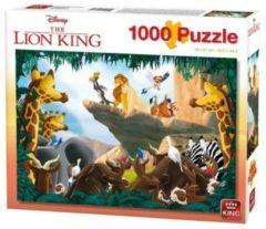 Disney 1000 Stukjes Puzzel - Lion King Rock - King - Legpuzzel 68 x 49 cm