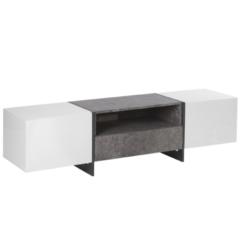 Witte Beliani Russel Tv-meubel Mdf 39 X 162 Cm