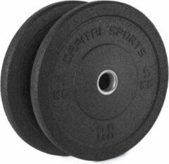 Capital_sports CAPITAL SPORTS Renit Hi Temp Bumper Plates 50,4 mm Aluminium kern Rubber