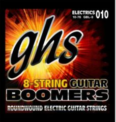 GHS GBL-8 Boomers 8-string light snarenset voor 8-snarige gitaar