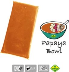Papaya - Bevroren fruit puree (pulp) - Acai fine fruits club - puree 4 Kg (40 x 100 g)