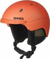 Sinner Titan - Skihelm - Volwassenen - 55-56 cm / S - Neon Oranje