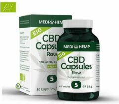 Medihemp CBD Capsules - 5% - 30 caps