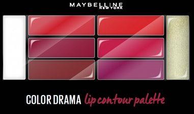 Afbeelding van Maybelline Liner Studio Color Contour Lip Palet - 2 Crimso - Lipliner (Ex)
