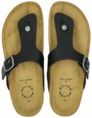 Nelson heren slipper - Zwart - Maat 45