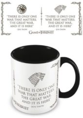 Pyramid GAME OF THRONES - Coloured Inner Mug - War Black