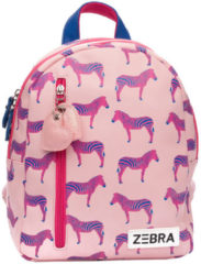 Roze Zebra Trends Zebra kinderrugzak S pink