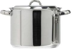 Zilveren Alva New Select Soeppan - 24 cm - 7.5L