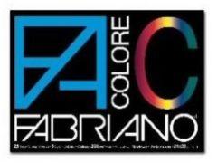 Fabriano Colore liscio/ruvido 24x33 cm 220 g/mq 25 fogli assortiti