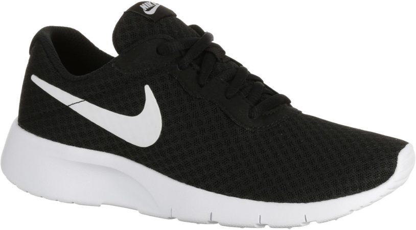 Afbeelding van Witte Nike Sportswear Nike Tanjun (GS) - Sportschoenen - Jongens - Maat 3,5Y - Black/White-White
