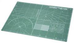 Tamiya 74076 Cutting Mat A3 - groen Snijmat