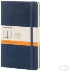 Moleskine Schrijfmappen Notebook Large Gelinieerd/Lined Hardcover Blauw