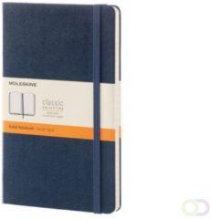 Donkerblauwe Moleskine Classic A5 gelinieerd notitieboek