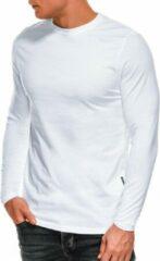 Witte Ombre Heren longsleeve - l118