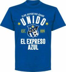 Blauwe Retake CD Arabe Unido Established T-Shirt - Royal - XXL