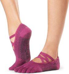 Roze Toe Sox ToeSox Full Toe Elle Groovy