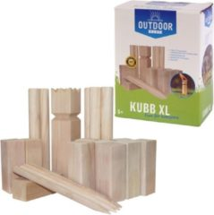 Outdoor Play XL Kubb met 21 Houten Onderdelen