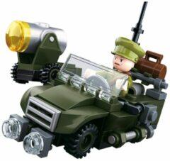 Building Blocks WWII Serie Allied Artillery Gun