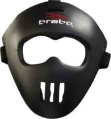 Brabo Gezichtsmasker Junior - One size - Zwart