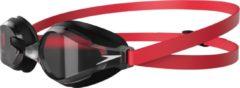 Speedo - Fastskin Speedsocket 2 - Zwembril maat One Size, zwart/rood