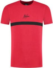 Rode Malelions Junior Tonny T-Shirt - Red/Black - 8   128
