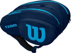 Blauwe Wilson Team Padel Bag