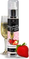 Secret Play Massage Oil Strawberry and Sparkling Wine