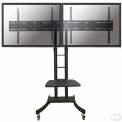 Newstar PLASMA-M2000ED flat panel vloer standaard Portable flat panel floor stand Zwart 177,8 cm (70'')