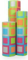 Roze VerraXL Cadeaupapier Fantasy 3 - Rol 50cm - 200m - 70gr | Winkelrol / Apparaatrol / Toonbankrol / Geschenkpapier / Kadopapier / Inpakpapier